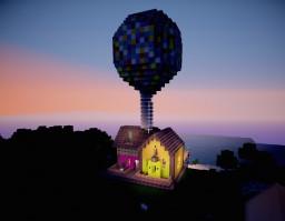 Up! Disney Pixar Carl & Ellie's Minecraft Map & Project
