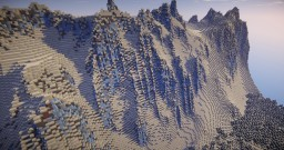 Epic realistic snowy mountains Minecraft Map & Project