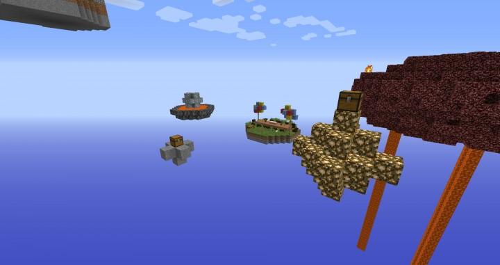 Small islands ahead