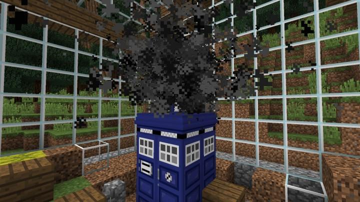 The Crashed TARDIS