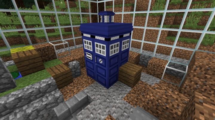 The Repaired TARDIS