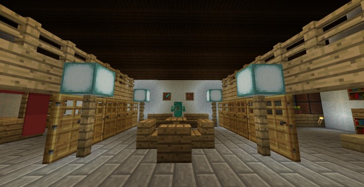 Traditional Chinese Siheyuan House Minecraft Project
