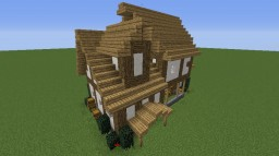 Old style small house Minecraft Project