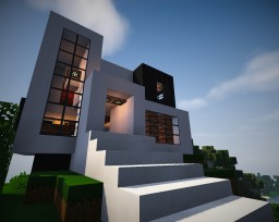 Modern House 4 Minecraft Project