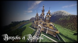 ACROPOLIS OF ASTHARIA - Medieval Styled Cathedral/Fort (First proper project) Minecraft Map & Project