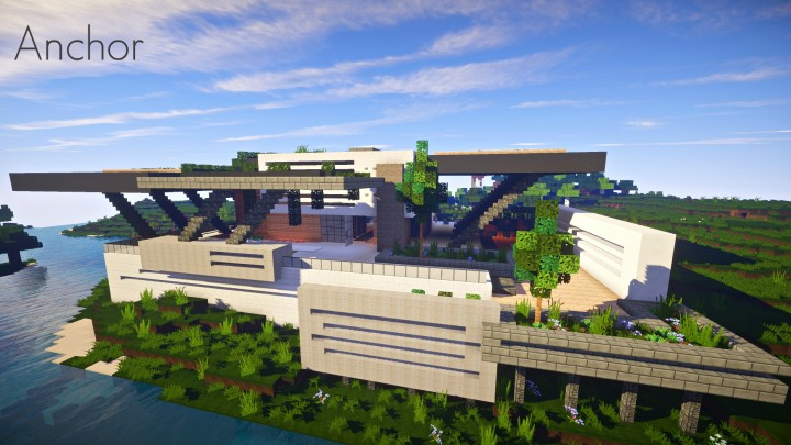 Anchor | A modern home Minecraft Project