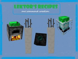 [One Command Creation] Lektor's Recipes by GerganaGZ - More things, to play with :D Minecraft Map & Project