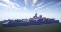 French Battleship Richelieu Minecraft Project