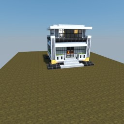 Medium Futuristic Home Minecraft Map & Project