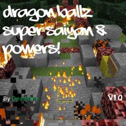 Super Saiyan & Powers V1.0 by Deadvine Minecraft Map & Project