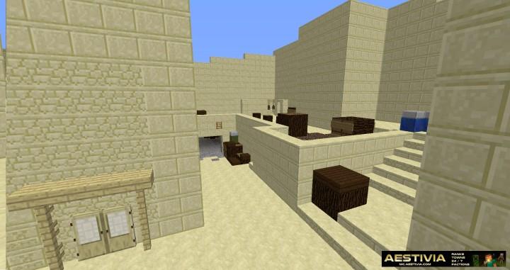 CS:GO Dust 2 Map, Bomb Plant & Defusal Scenario mini game