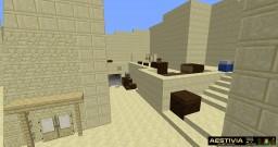 CS:GO Dust 2 Map, Bomb Plant & Defusal Scenario mini game Minecraft