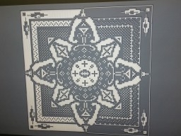 Black and white Minecraft Map & Project