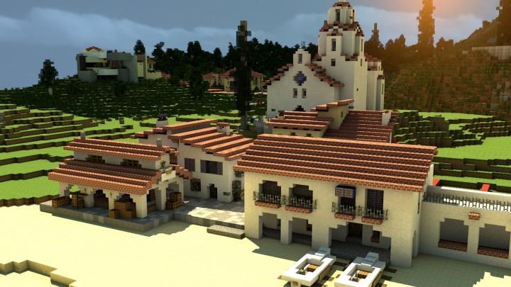 Oldtown, Luscante - Render by Headshotwar