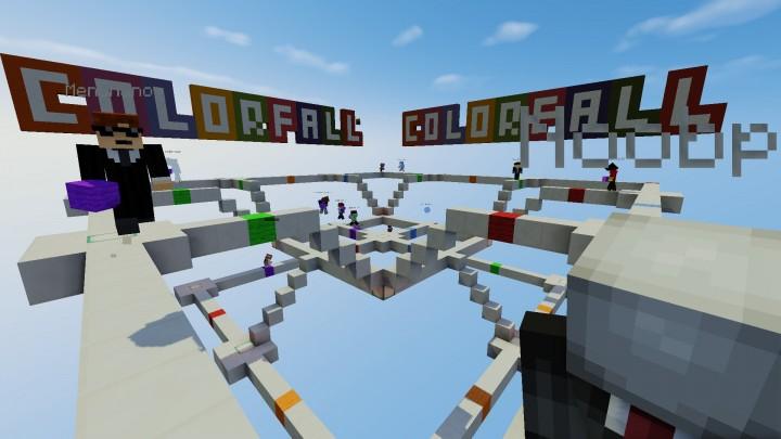 Colorfall Minigame