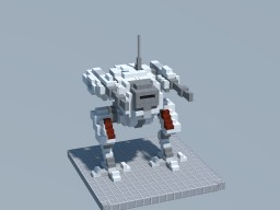 TTC: Chromehound Class Main Battlemech Minecraft Project