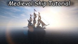 Medieval/Fantasy Ship Minecraft Project
