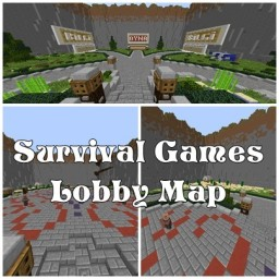 Survival Games Lobby Map / Minigames Lobby Map [Download] Minecraft Map & Project