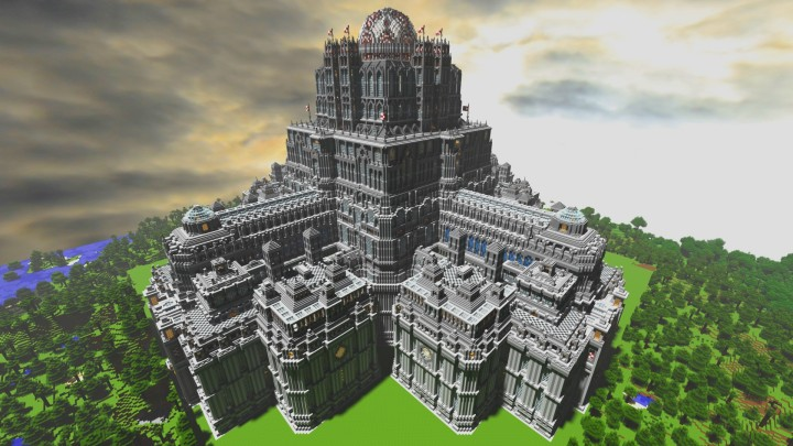 Planet Merdria Palace Of Symmetry Minecraft Project