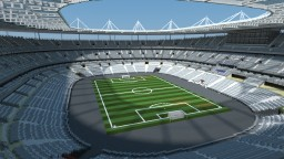 Stade de France (STADIUM) French National Stadium EURO 2012 Minecraft Map & Project