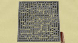 Maze Generation using Prim's Algorithm