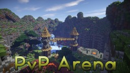 PvP Arena / Kit PvP Map 1.7-1.8 Minecraft Map & Project
