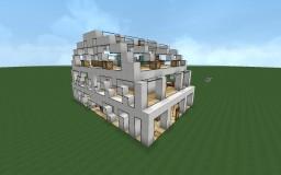 Semi-circle modern house