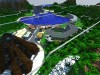 Jurassic World Isla Nublar v1 Minecraft Dinosaurs Minecraft Jurassic Park Visitor Center 1.7.10 1.8 Minecraft Map & Project