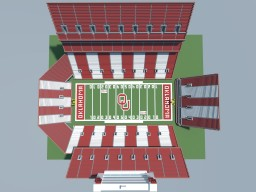 Gaylord Family Oklahoma Memorial Stadium Minecraft Map & Project