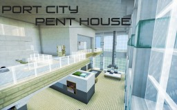 Port City Penthouse Minecraft Map & Project