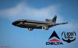 Lockheed L-1011 Tristar In 1:1 Scale [Full Interior] Minecraft Map & Project