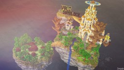 Lumium - Volt Network Skyblock spawn Minecraft Project