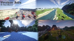 ♦ Vyrithian Isles ♦  2500x1800 Custom World/Terrain Minecraft Map & Project