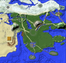 Ylisse (Terrain Only) Minecraft