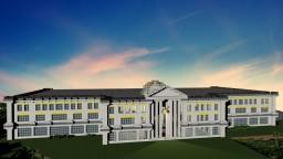 English Baroque Mansion Estate Minecraft Map & Project