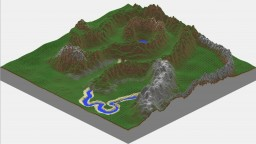 Valley v3.0- A minecraft WorldPainter Project Minecraft Map & Project