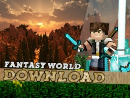 Epic Fantasy World Map Update 2.0, Custom Trees, Terrain & Much More! Minecraft Map & Project