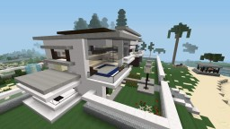 Home with garden Minecraft