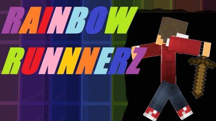 Rainbow runnerz minecraft project for White rainbow project