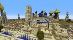 Arabic City Minecraft Map & Project