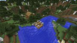 Small Cottage by the River Minecraft