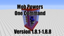 Mob Powers in One Command Minecraft Map & Project
