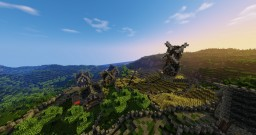 Medieval/fantasy world! *Name needed* Minecraft Project
