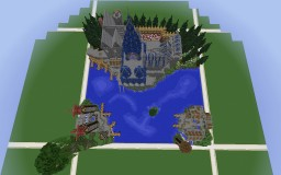 Chosape - Medieval Town and Castle (4th UPDATE) Minecraft Map & Project