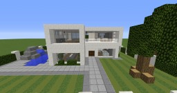 Revised tha3006's Modern House 1 Minecraft Map & Project