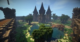 Factions Spawn + WarZone - Tharos Minecraft Map & Project