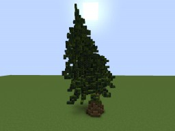 Huge Custom Tree Minecraft Map & Project