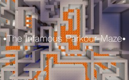 The Infamous Parkour Maze 1.13 Minecraft Map & Project