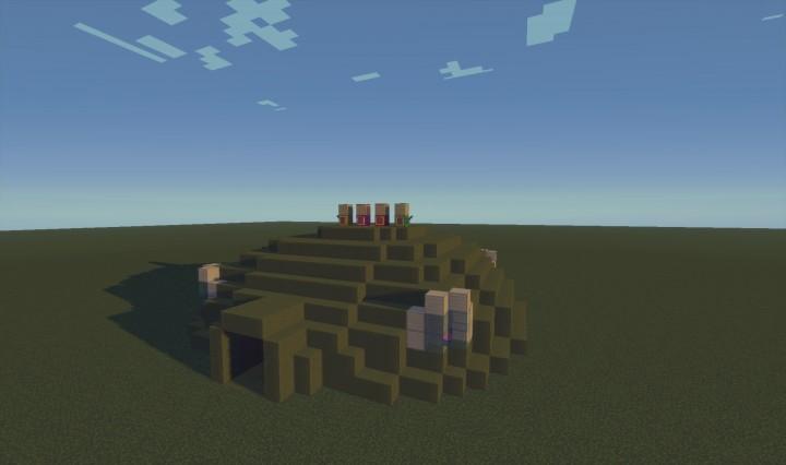 Teletubbie Dome Minecraft Project