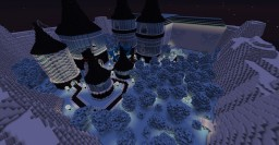 Ice Themed Hub Minecraft Map & Project